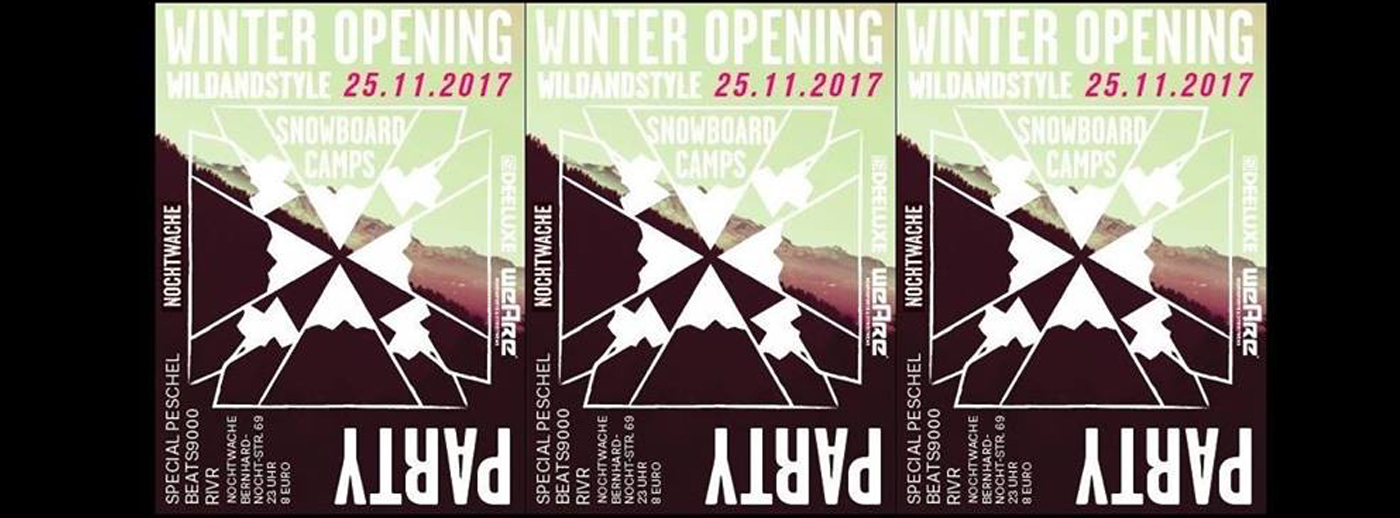 WILDANDSTYLE - Winter Opening Party!